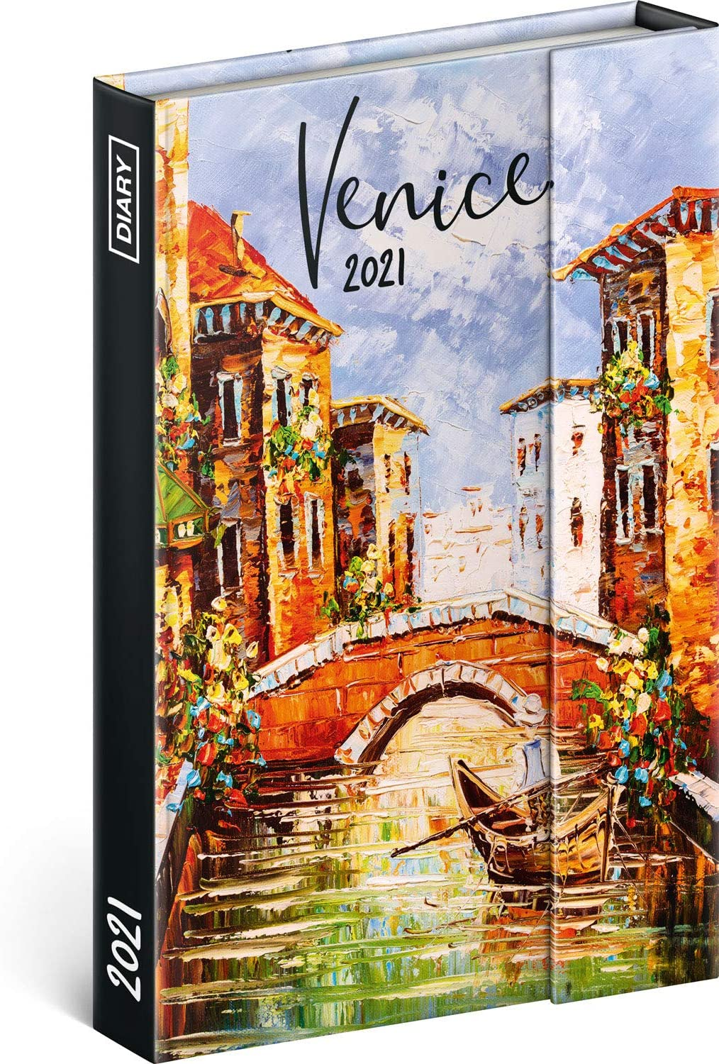 2021 Weekly Planner for Women, Pocket Calendar Organizer Notebook Magnetic Closure, Daily Appointment Book (Venice)