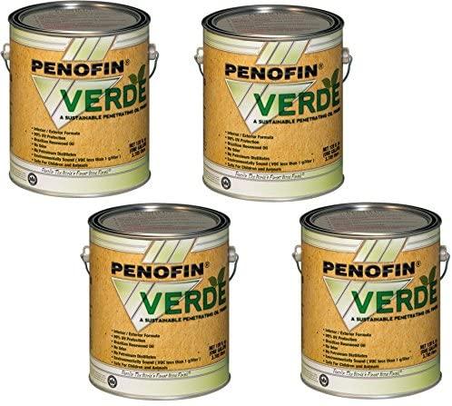 Penofin Verde, Redwood - 4 Pack (Penofin FOVTRGA)