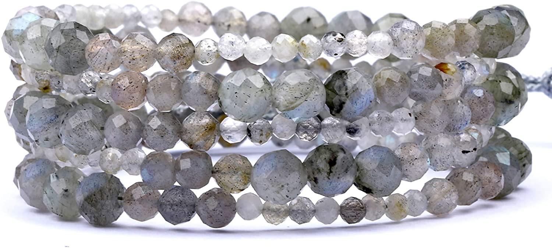 Versatile Multipurpose 4 in 1 Jewelry,Handmade Naked Wrap Bracelet/Beaded Short or Long Necklace/Anklet