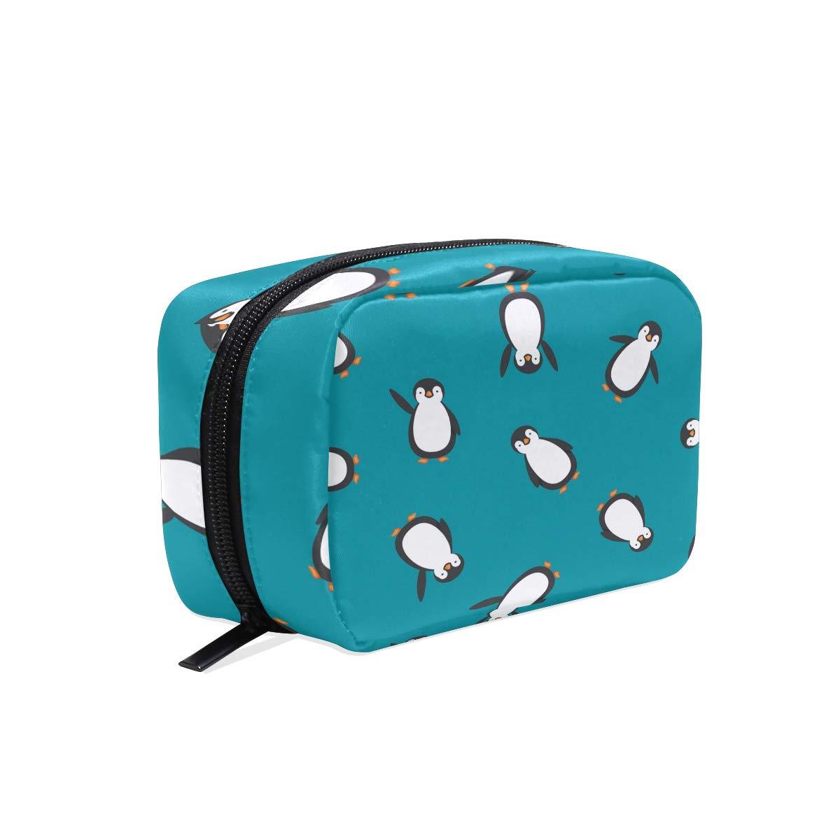 Penguin Hanging Travel Toiletry Bag for Men and Women   Makeup Bag   Cosmetic Bag   Bathroom and Shower Organizer Kit   Leak Proof