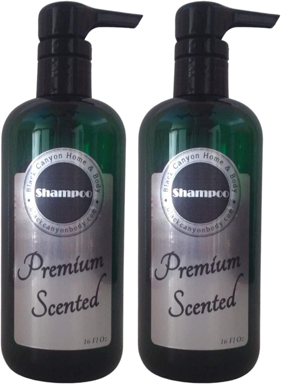 Black Canyon Honey & Almond Scented Argan Oil Hair Shampoo (2 Pack)