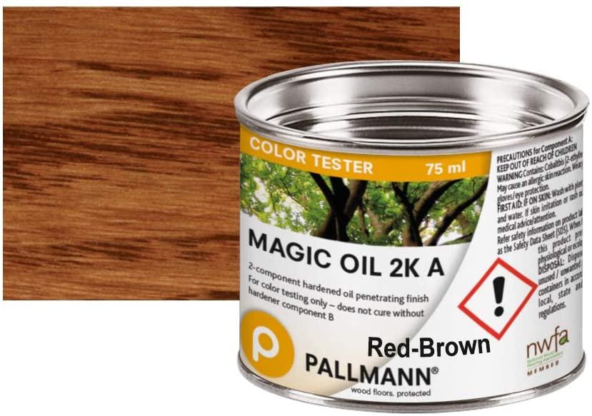 Pallmann Oil 2K Color Sample (Red Brown)