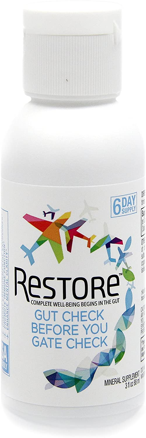Restore Promotes Gut-Brain Health   Alleviates Gluten Sensitivity, Enhances Mental Clarity, and Strengthens Immune Function and Digestive Wellness   6-Day Supply
