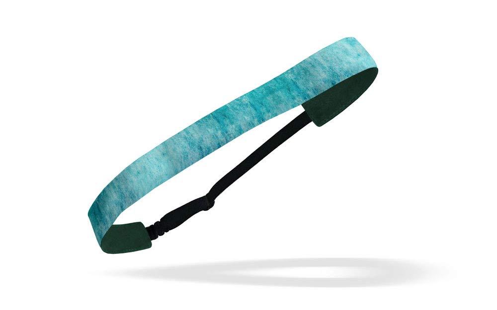 RAVEbandz!! Women's Adjustable Elastic Headbands (Lifestyle & Fitness) - For Fashion or Workouts - Non Slip Velvet Lined 1 Inch (Spirit)