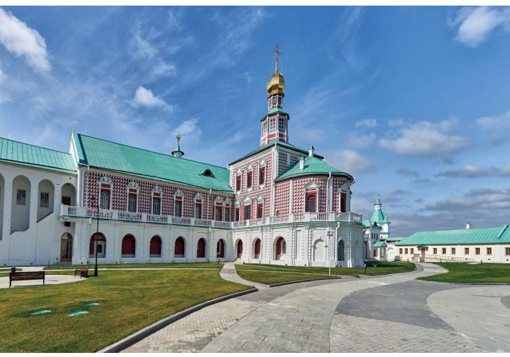CSFOTO 10x8ft The Voskresensky New Jerusalem Monastery Backdrop Church of The Nativity in The Resurrection Church Event Decor Background for Photography