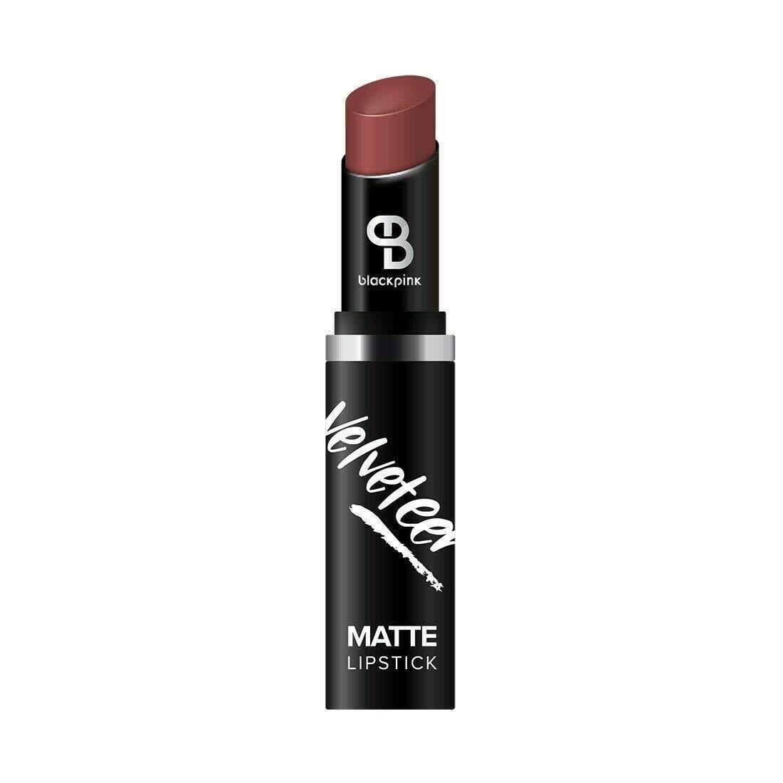 BLACKPINK - Rich Color - VELVET MATTE LIPSTICK(18 COLOR VARIATIONS) FLIRTATIOUS, PLAYFUL, SEXY, VIBRATE SHADES (TIRAMISU)