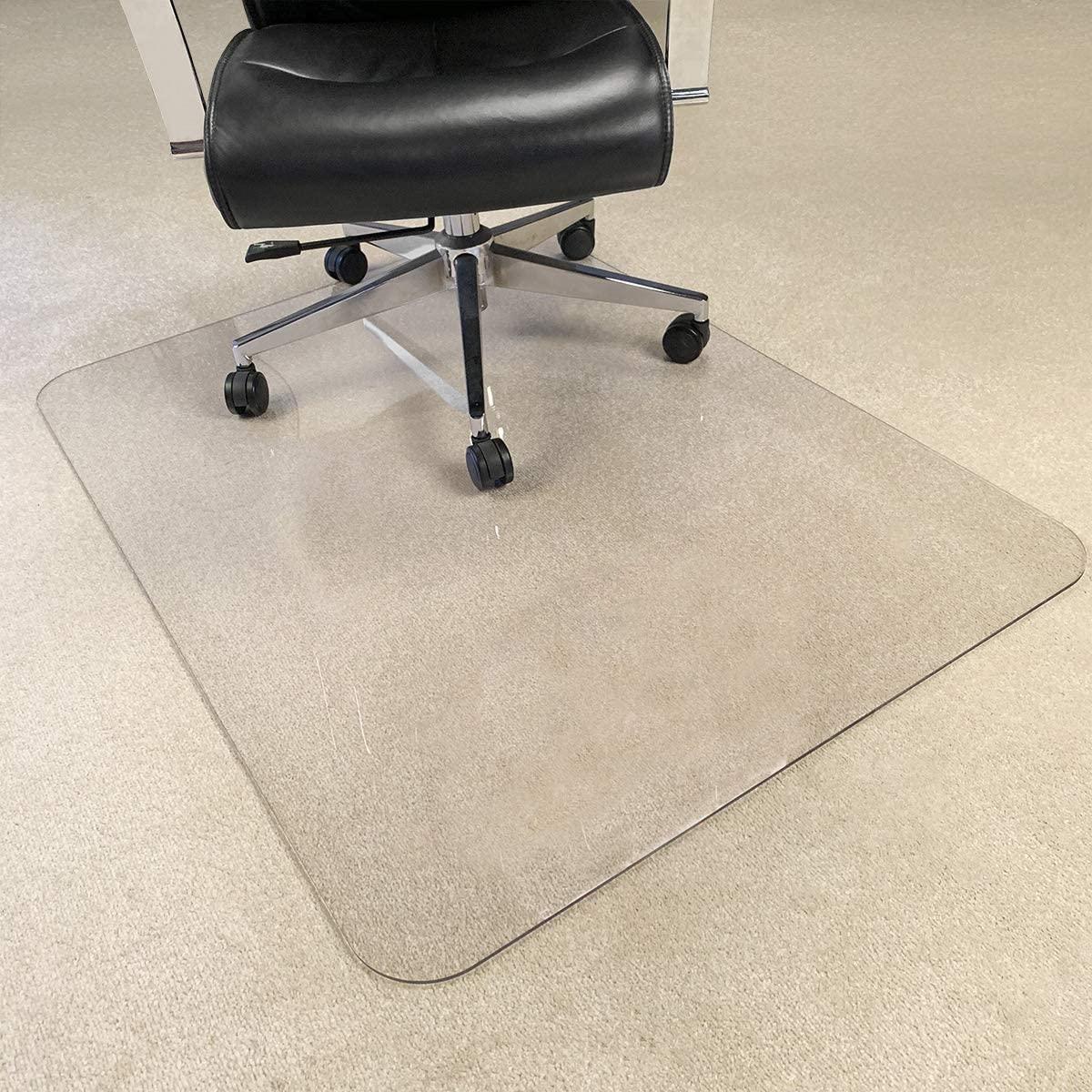 Transparent Chair Mat, Hard Floor Chair Mat Clear Floor Protector, 47