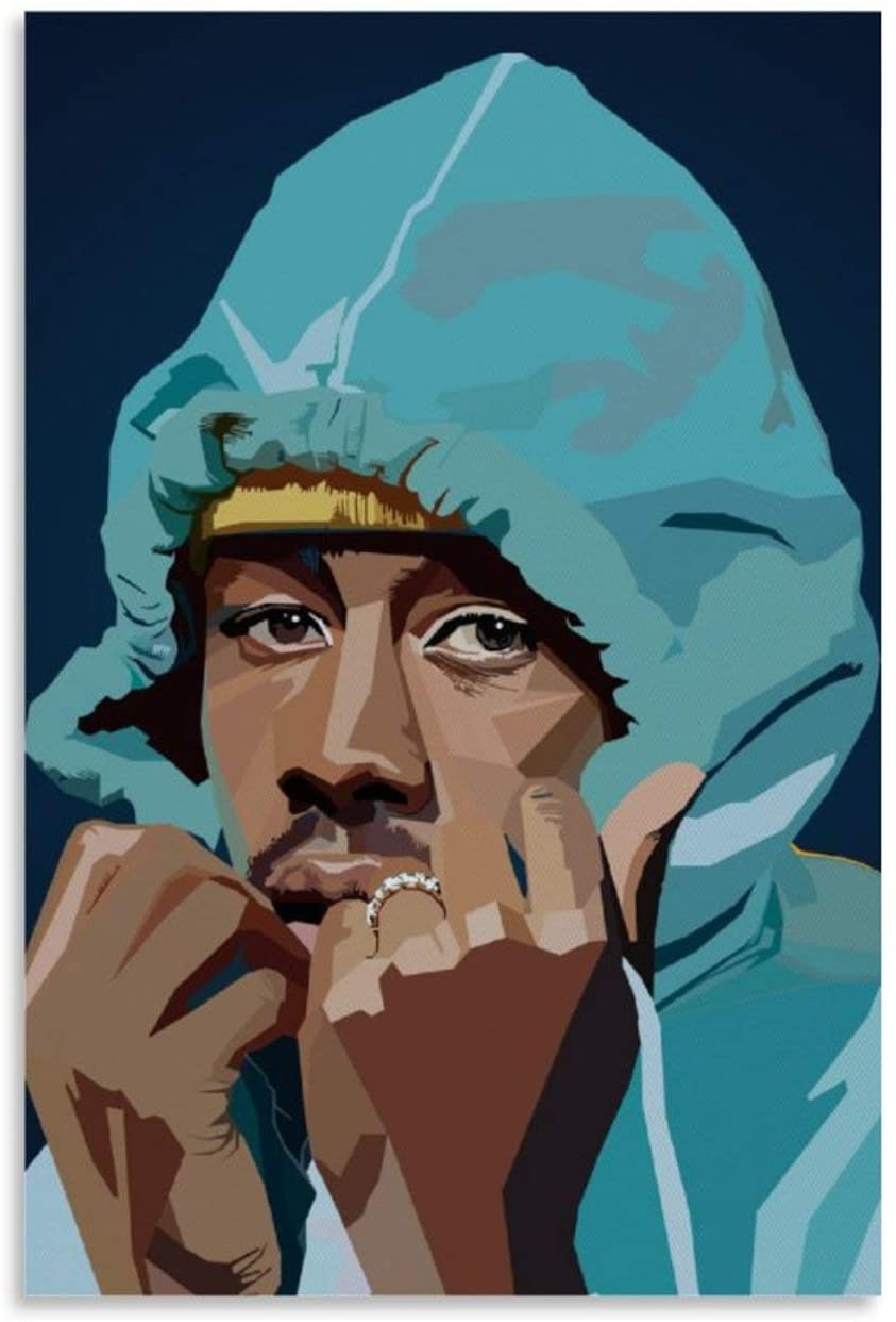 yuanchen Tyler The Creator Pop Art Canvas Art Poster and Wall Art Picture Print Modern Family Bedroom Decor Posters 16x24inch(40x60cm)