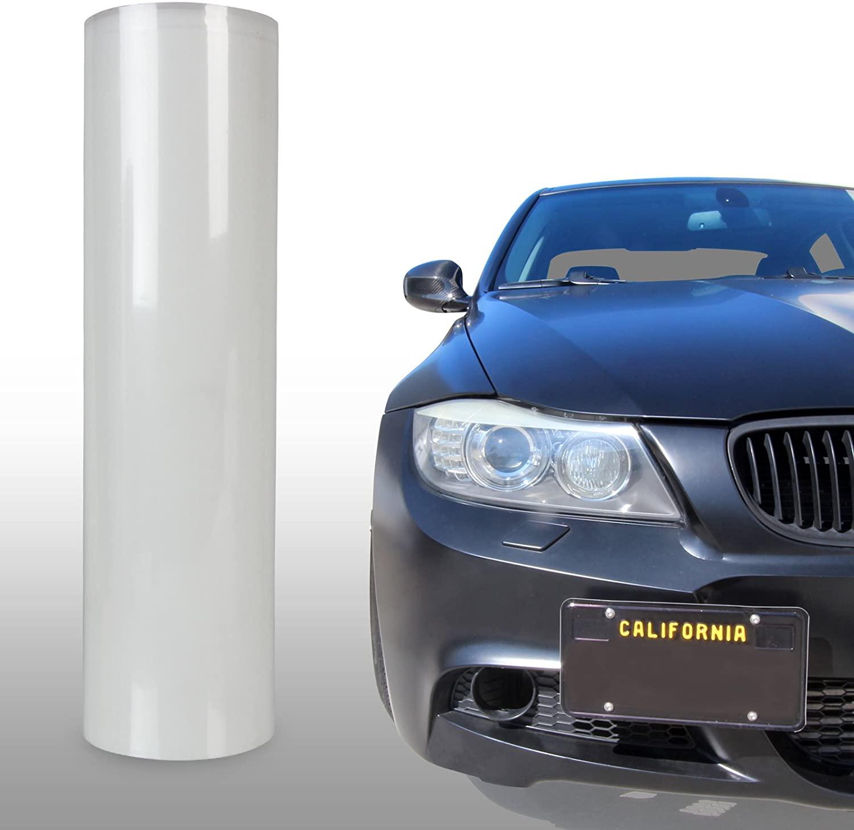 Optix Clear Bra Headlight Bumper Hood Paint Protection Guard Film Vinyl Sheet Roll - 12