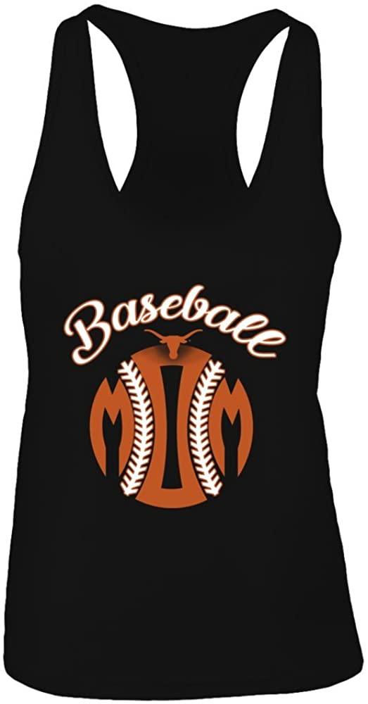 FanPrint Texas Longhorns Tank Top - Baseball Mom