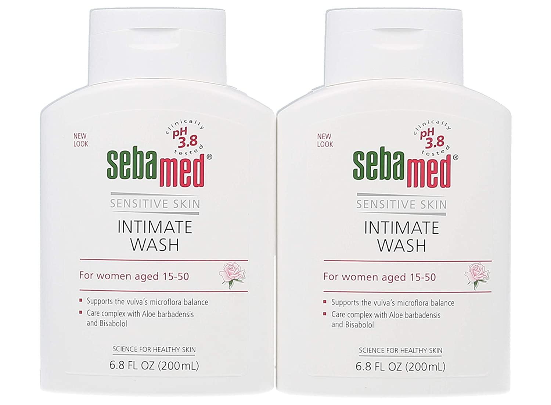 Sebamed Feminine Intimate Wash pH 3.8 Daily Vaginal Hygiene Wash 6.8 Fluid Ounce (200mL) Pack of 2