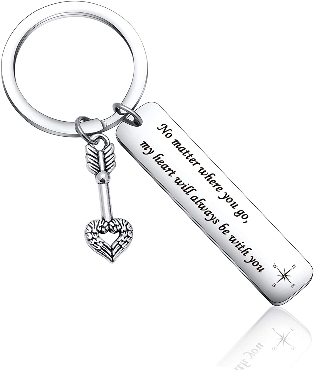 Daughter Son Gift Best Friends, Friendship Mothers Day Gift Family Jewelry Tour Guide Keychain
