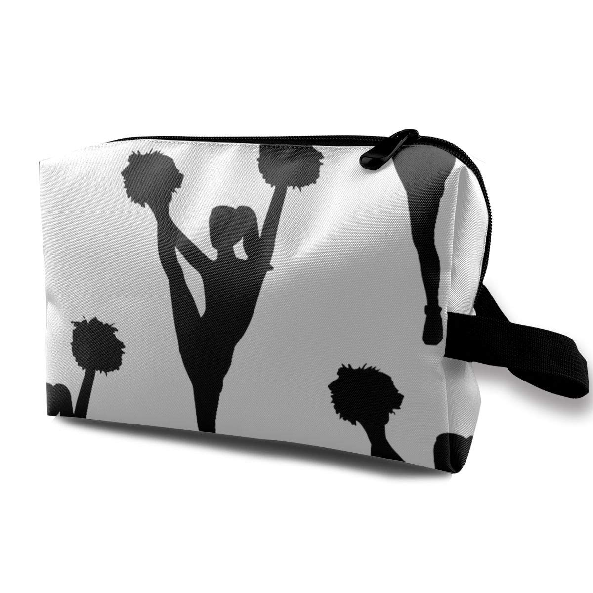 Cheerleader Cosmetic Bag Makeup Bags For Women,Travel Makeup Bags Roomy Toiletry Bag Accessories Organizer With Zipper