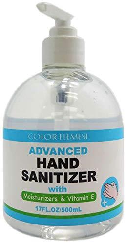 Color Element Bulk Hand Sanitizer in 17 oz. Pump Bottles