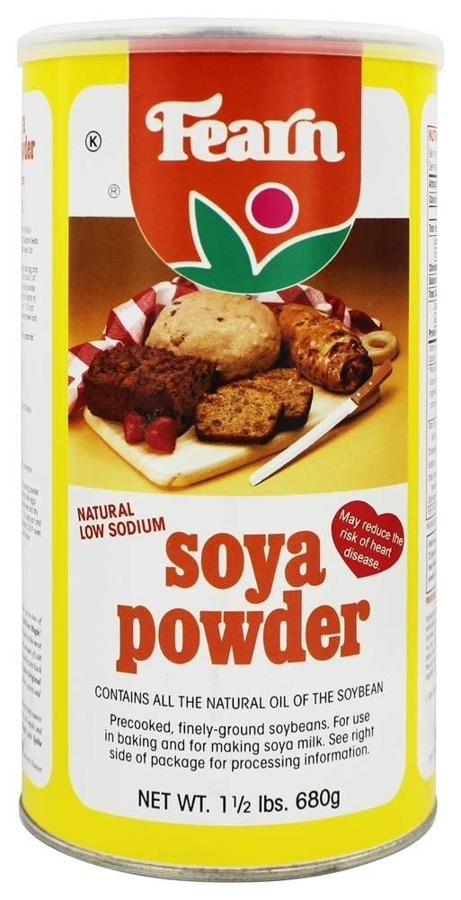 Fearn All Natural Soya Powder, 1.5 Pound - 12 per case.