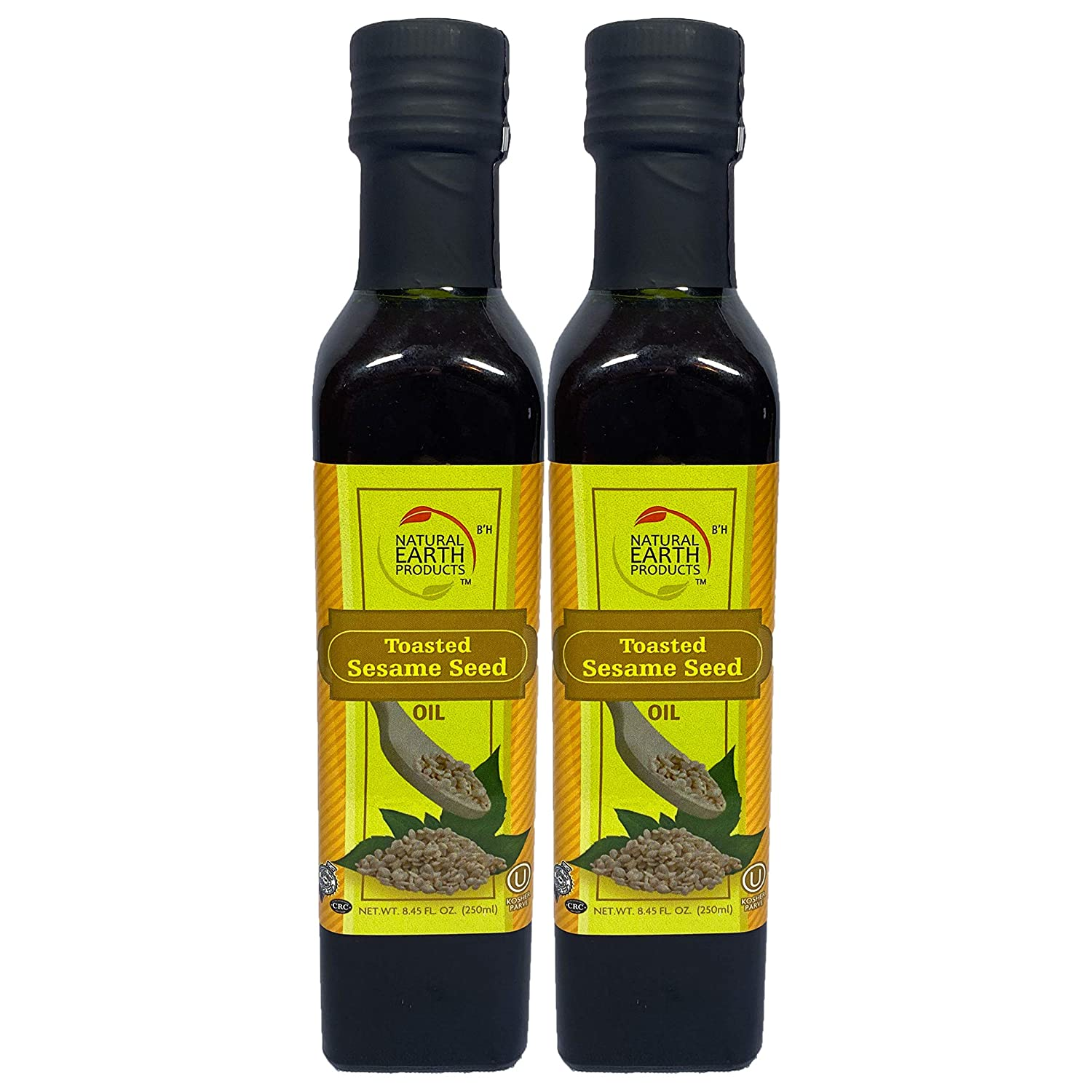 Toasted Sesame Oil, Wholesome and Tasty, Certified Kosher, 8.45 Fl Oz (2-Pack)