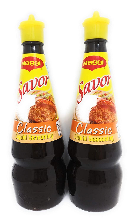 Maggi Savor Classic Liquid Seasoning Pack of Two 250ml Per Pack