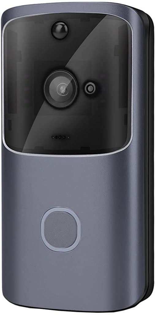 HighlifeS Smart Wireless WiFi Video Doorbell Video Phone 32G 18650 Batteries Visual Intercom Two-Way Talk and Real-time