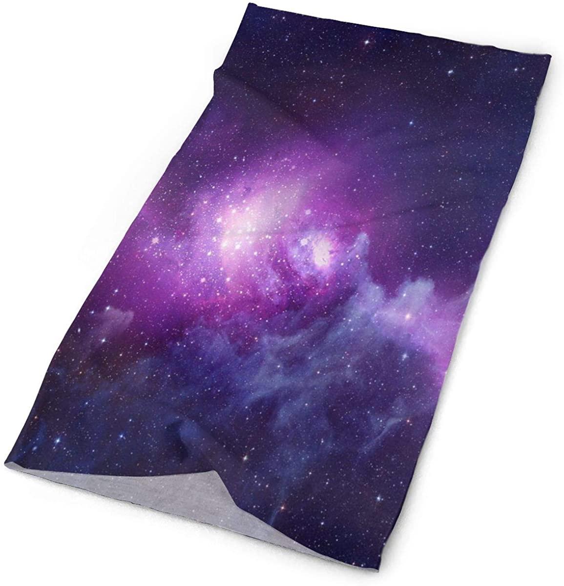 Colorful Galaxy Stars Face Mask UV Sun Mask Dust Wind Neck Warmer Magic Bandana
