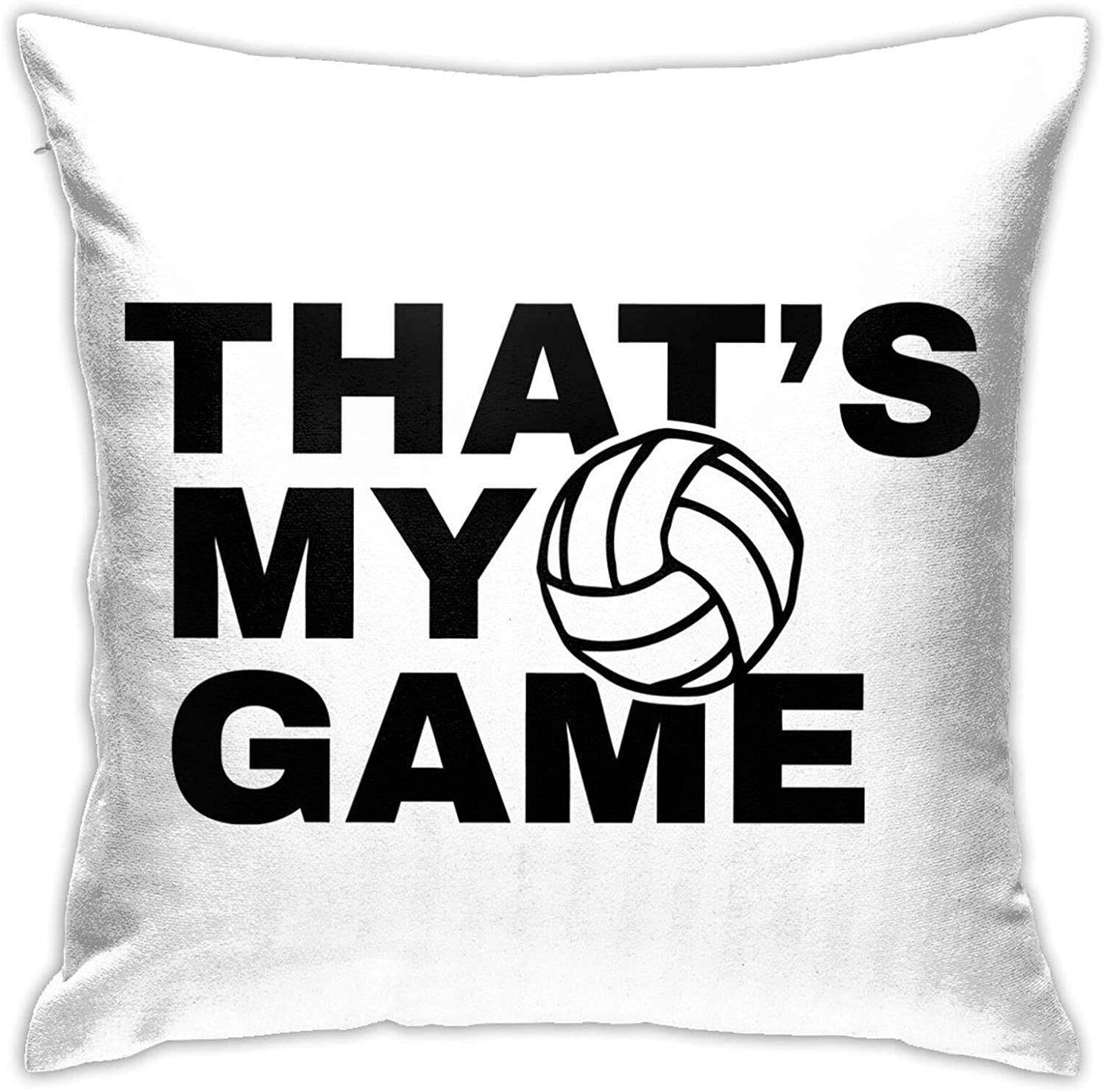 Hodmes This is My Game Comfortable Double-Sided Printing Sofa Cushion Pillow Bed Back Car Waist Cushion Pillow