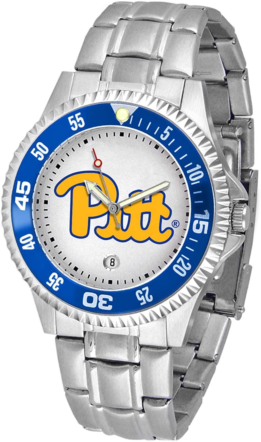 Linkswalker Mens Pittsburgh Panthers Competitor Steel Watch