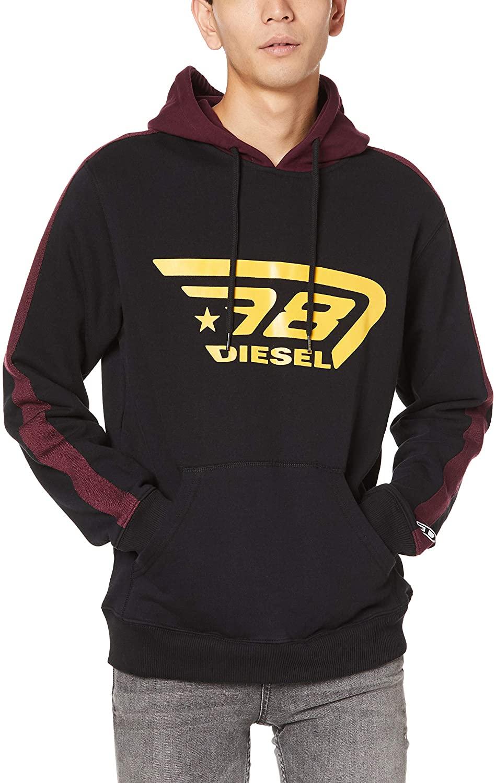 Diesel Men's Brandon Hoodie Sweatshirt