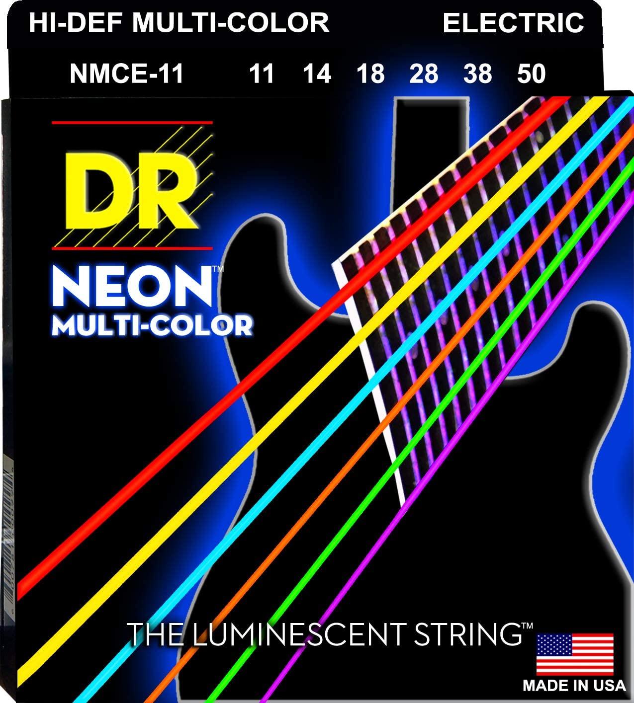 DR Strings HI-DEF NEON Electric Guitar Strings (NMCE-11)