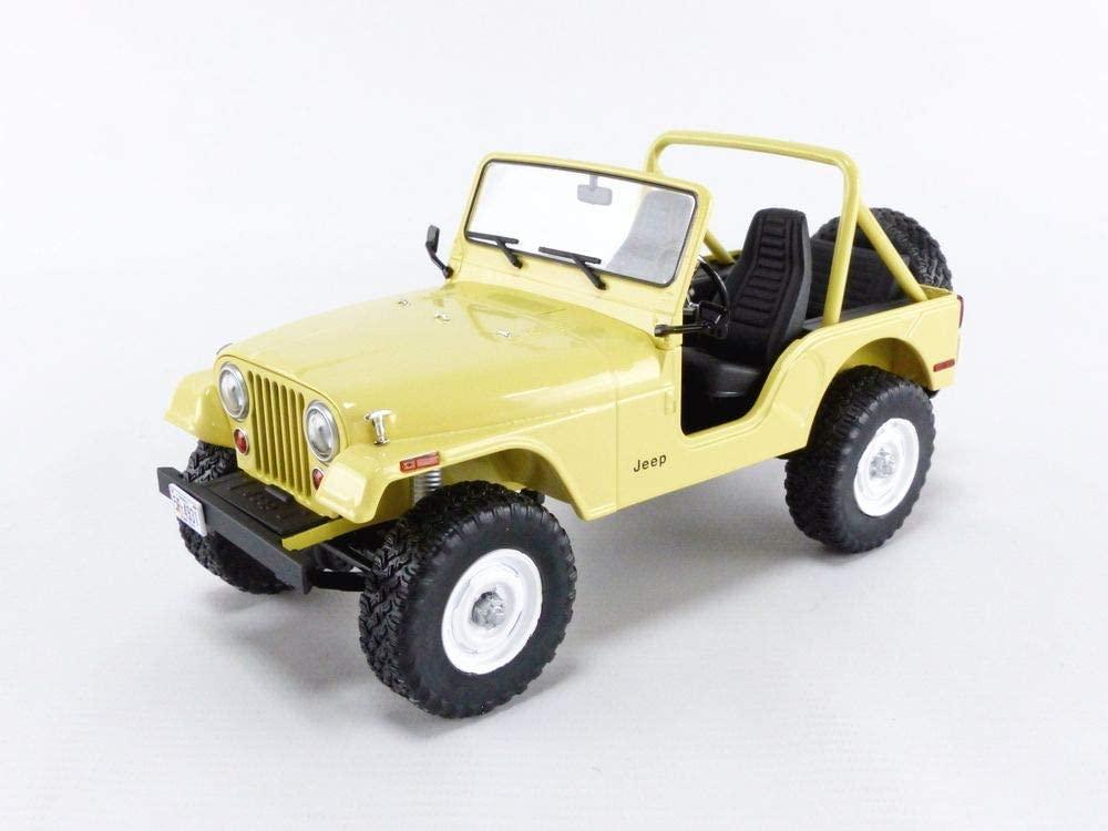 1980 CJ-5 Yellow (Julie Rogers) Charlies Angels (1976-1981) TV Series 1/18 Diecast Model Car by Greenlight 19078
