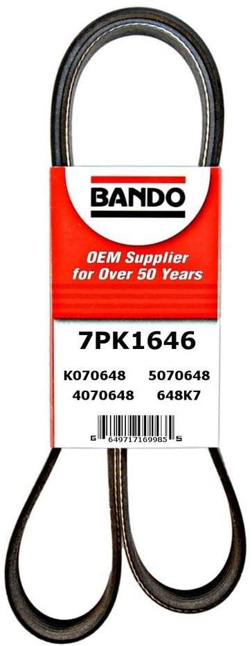 Bando USA 7PK1646 OEM Quality Serpentine Belt