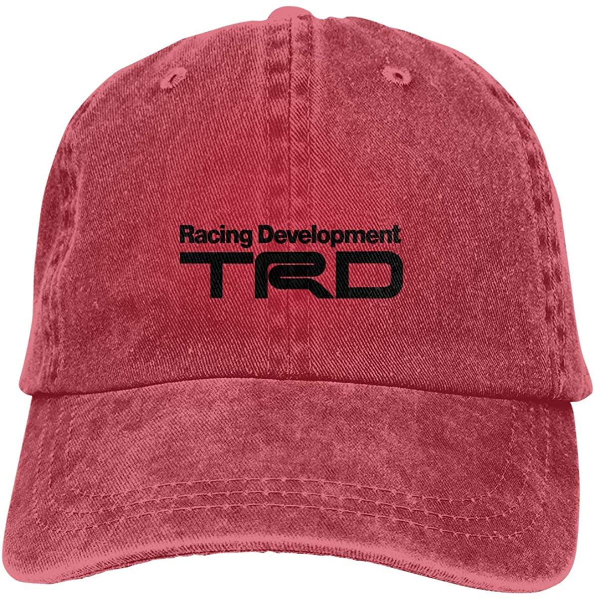 Racing Development TRD Adjustable Baseball Caps Denim Hats Cowboy Hat Cap for Men Women Sport Outdoor