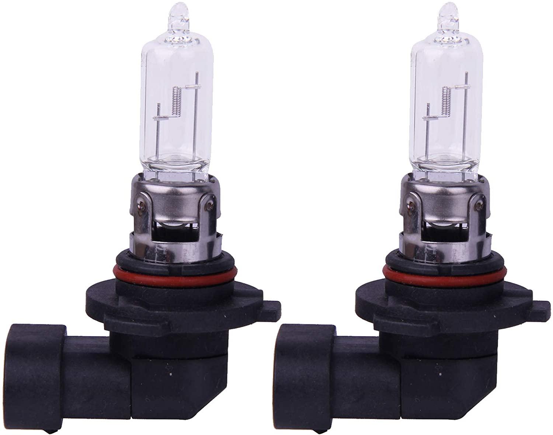 Auto White Headlight Bulbs,2pcs 12V Motorcycle Headlamp Halogen Clear Bulbs for 2009 HONDA CIVIC HYBRID Hig