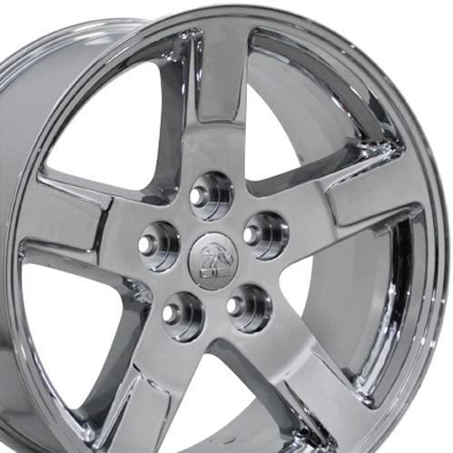OE Wheels LLC 20 Inch Fits Chrysler Aspen Dodge Dakota Durango Ram 1500 RAM Style DG62 Chrome 20x9 Rim Hollander 2364