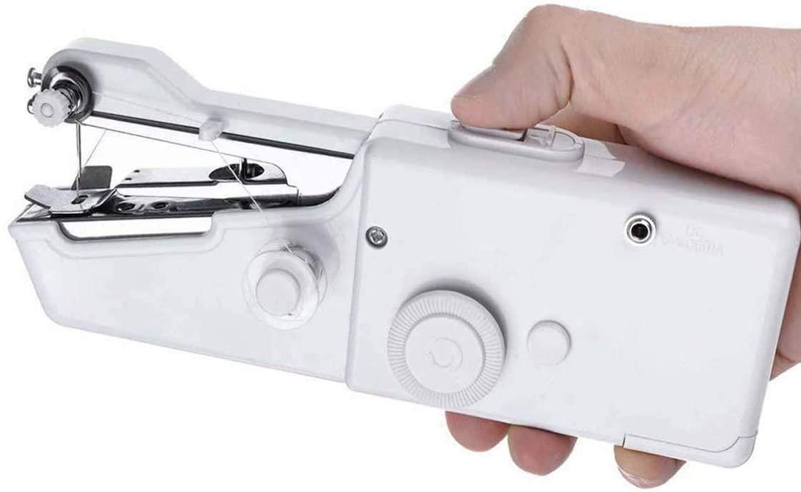 CHARMINER Handheld Sewing Machine, Mini Handy Cordless Portable Sewing Machine