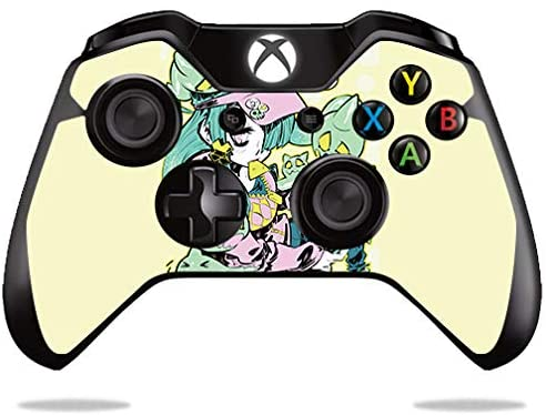 MightySkins Skin Compatible with Microsoft Xbox One or S Controller - Ghosted | Protective, Durable, and Unique Vinyl Decal wrap Cover | Easy to Apply, Remove, and Change Styles | Made in The USA