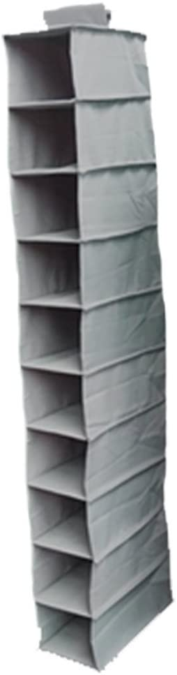 DormCo Hanging Shoe Shelves - TUSK College Storage - Gray