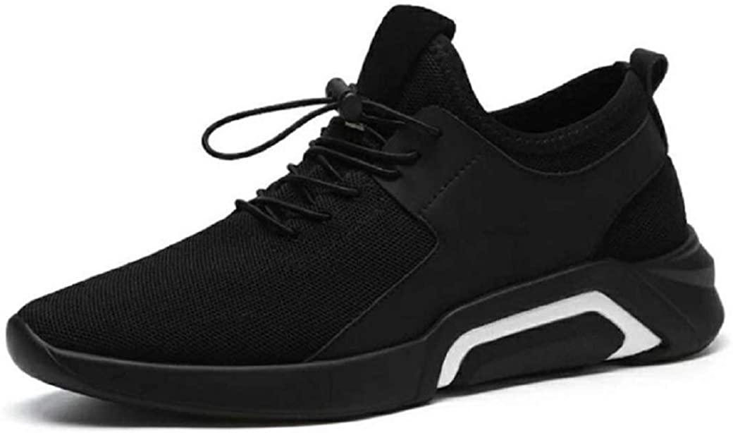 11KOPIUUKK Mens Running Sneaker,2019 Novelty Casual Mesh Breathable Slip On Outdoor Sports Shoes Black