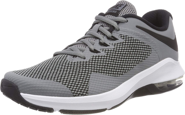 Nike Air Max Alpha Trainer Mens Aa7060-020 Size 9.5 Cool Grey/Black