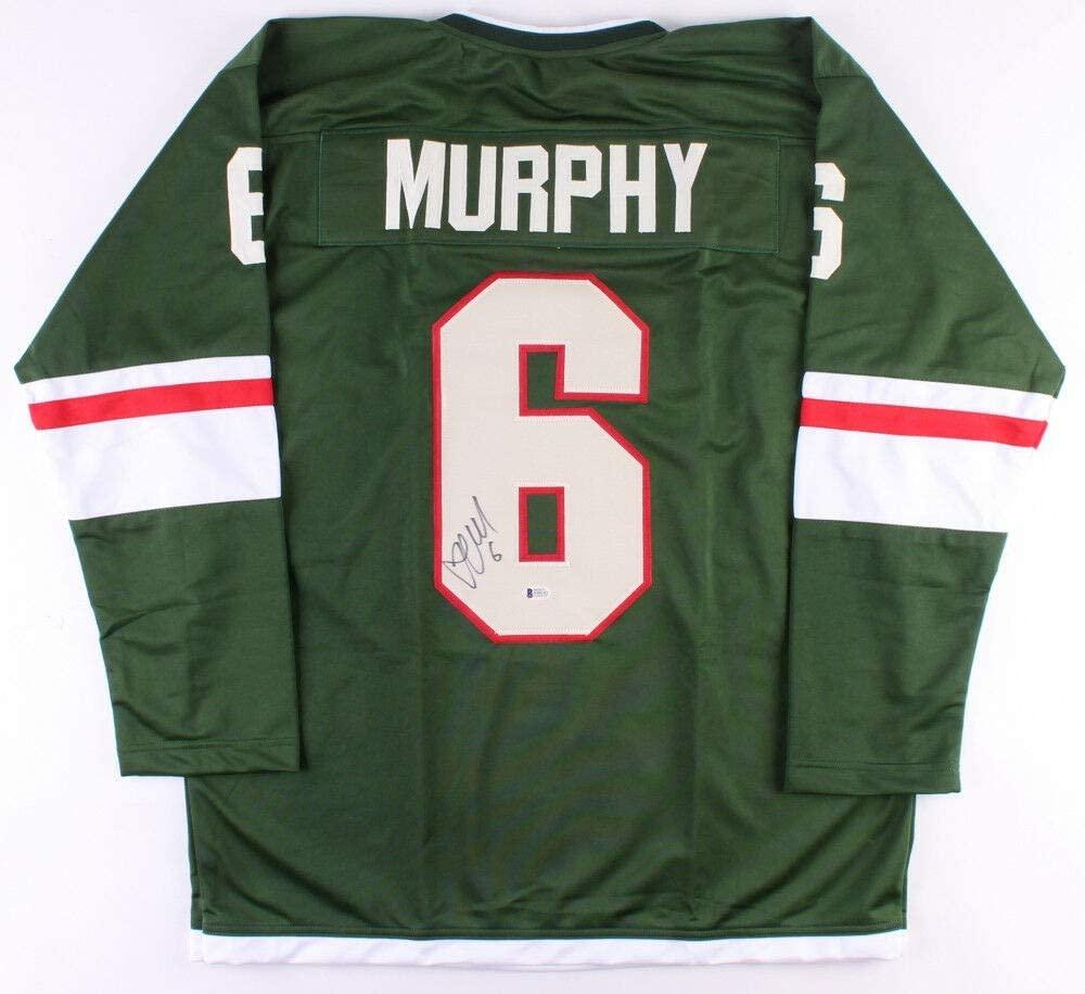 Ryan Murphy Autographed Signed Minnesota Wild Jersey (Beckett COA) NHL Career 2013 Present