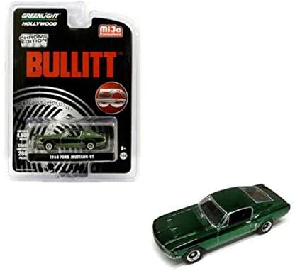 DIECAST 1:64 Hollywood - Bullitt 50 Year Anniversary - 1968 Ford Mustang GT 51226 by Greenlight