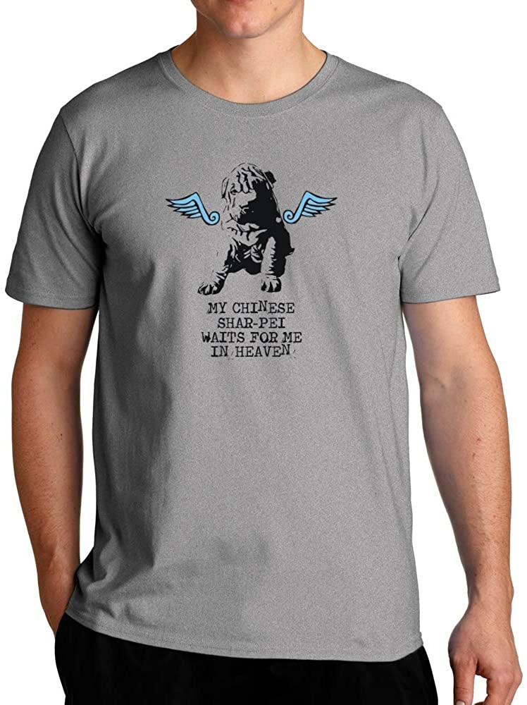 Eddany My Chinese Shar pei waits for me in Heaven T-Shirt