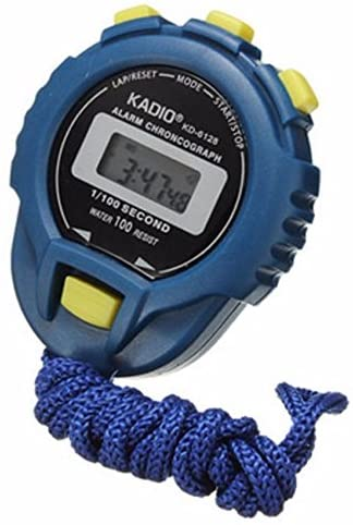 OWMEOT Digital Stopwatch Timer with Extra Large Display and Buttons, Water Resistant, One Year Warranty