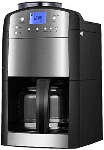 XHCP Coffee Machine Coffee Machine HYL Full Automatic Grinding Bean to Home Insulation Timer Fresh-Aroma-Perfect 1000W 1.25L