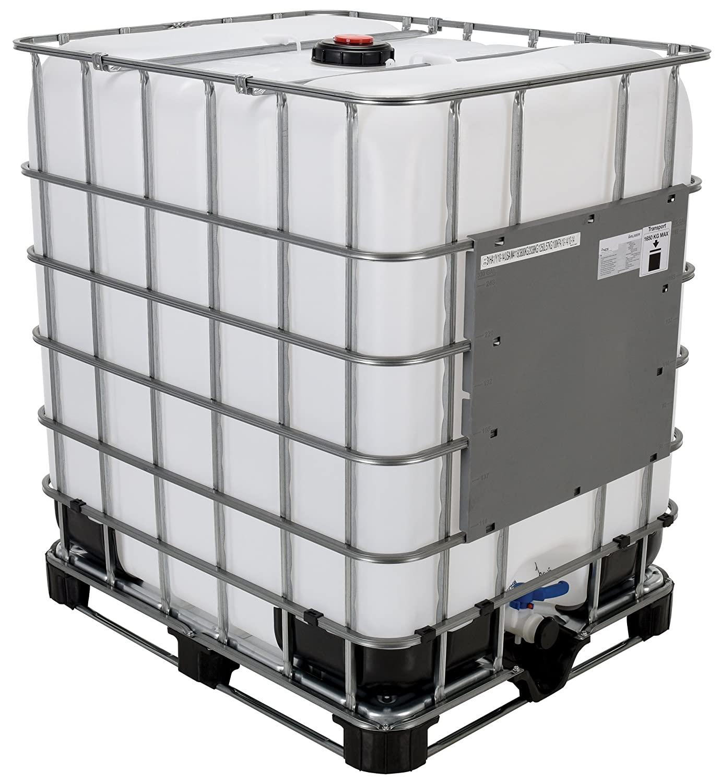 Vestil IBC-330 Steel Intermediate Bulk Crate, 330 Gallon Capacity, 47 Length x 53