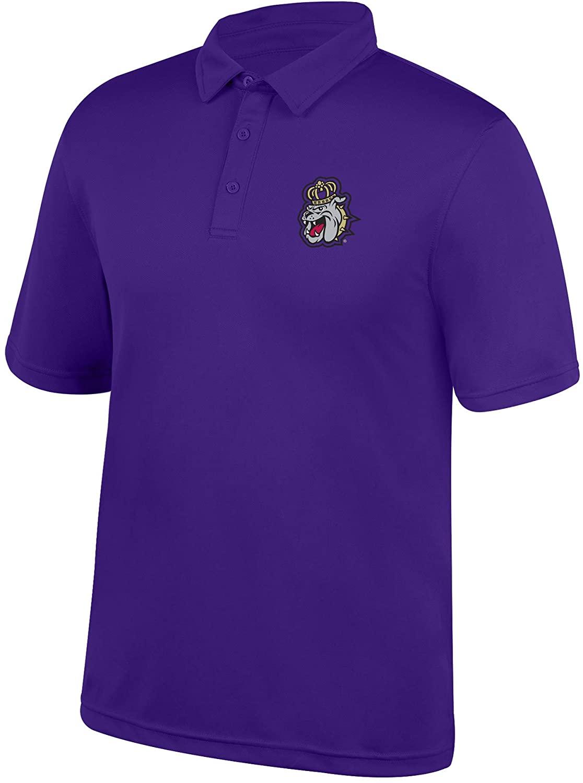 Top of the World James Madison Dukes Men's Polo Icon, Purple, Medium