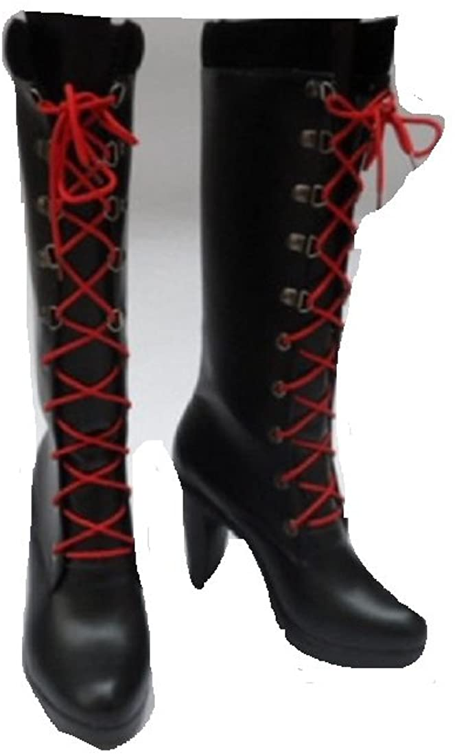 Mister Bear Danganronpa Dangan-Ronpa Junko Enoshima Cosplay Costume Boots Boot Shoes Shoe