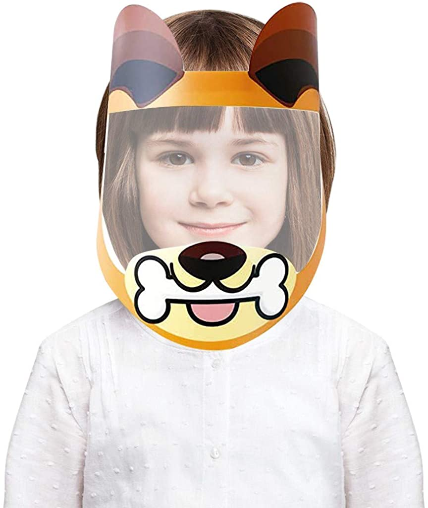 Face Shields for Kids Cute Reusable Face s for Children. Comfortable, Durable and Easy To Clean