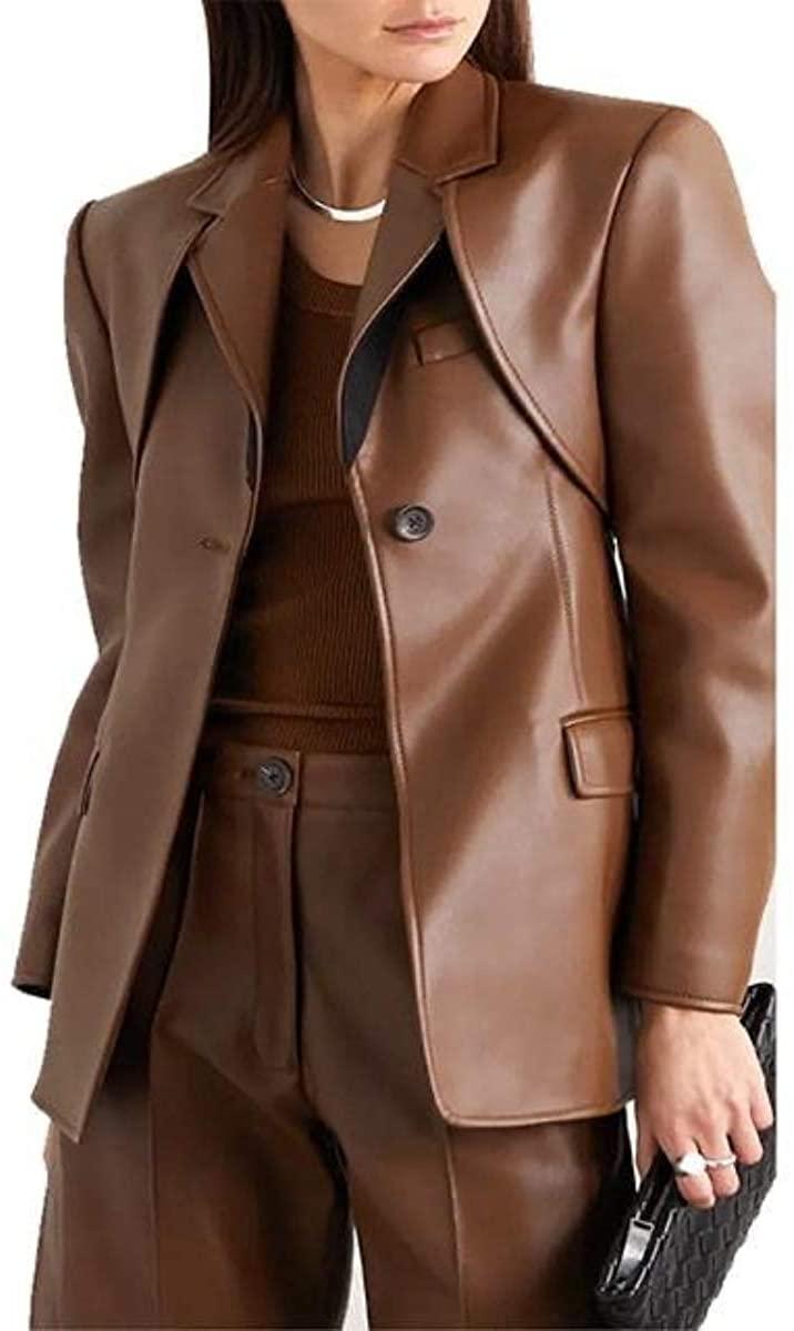 Women Blazer Fashion One Button Party Wear & Casual Blazer Coat for Women's Hot Look