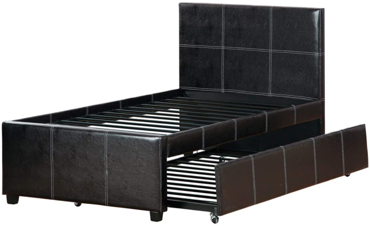 Benzara BM168710 Sectional Sofa, Brown