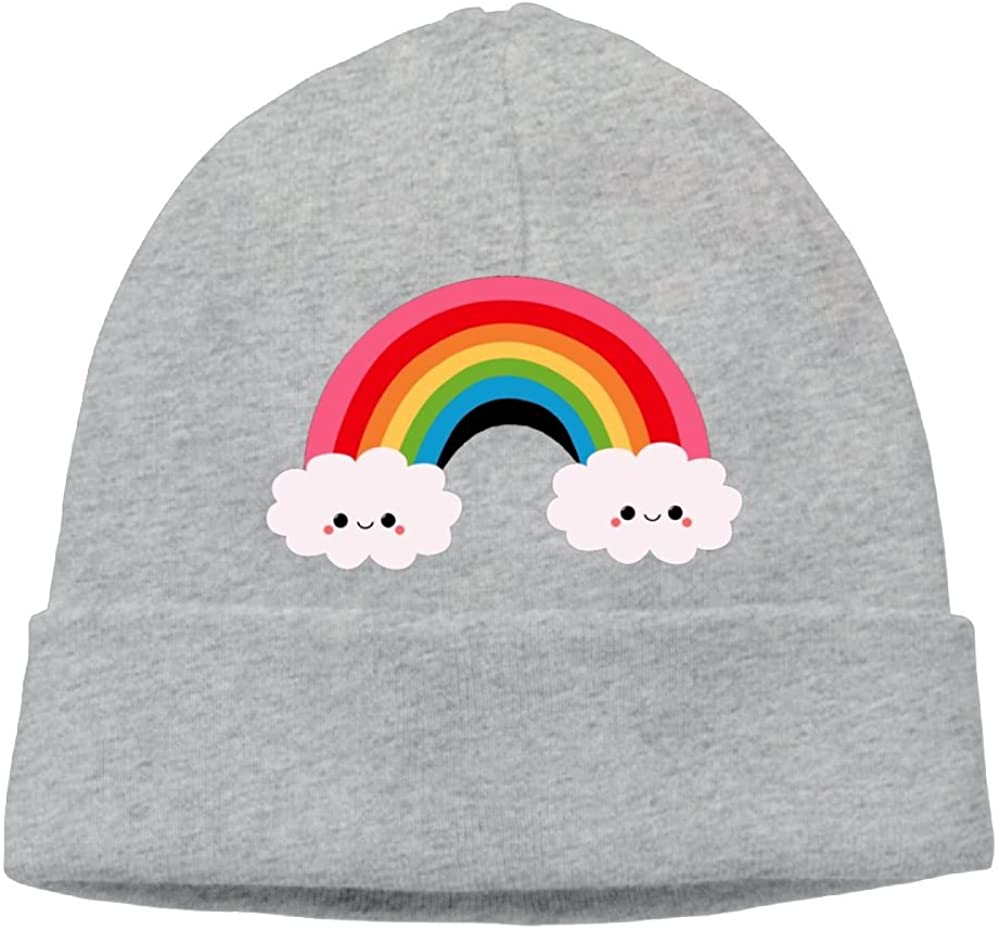 Cute Rainbow Unisex Cool Hedging Hat Wool Beanies Cap DeepHeather By Carter Hill