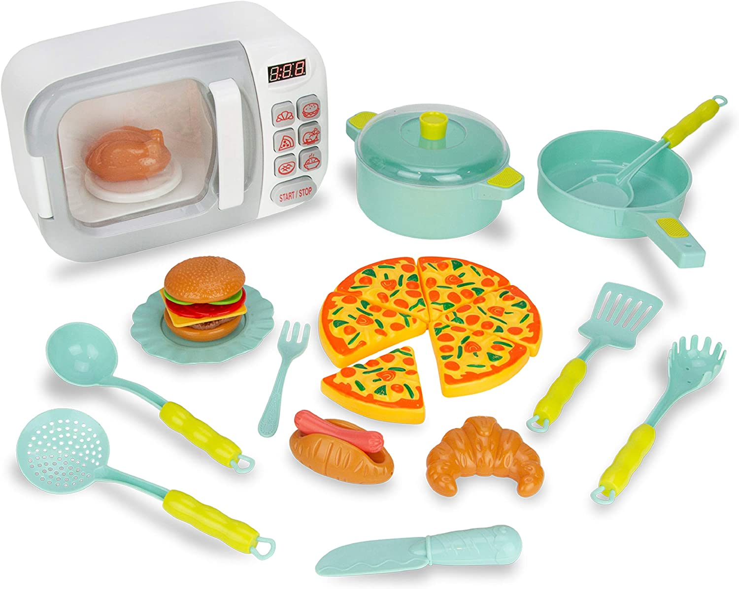 Boley Microwave Playset - Silver Red